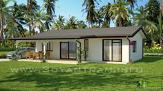 Beach House #Exterior 3D Cgi #Design and #Animation by YantramStudio.com