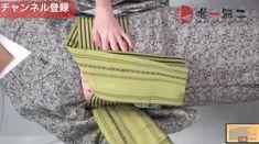 帯揚げ、帯締め、枕さえも使わない!半幅感覚で結べる名古屋帯
