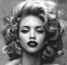 curls #noir & #blanc