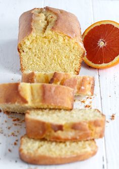 Glazed Orange Pound Cake Loaf - Seasons and Suppers Citrus Recipes, Sweets Recipes, No Bake Desserts, Baking Recipes, Delicious Desserts, Pound Cake Glaze, Easy Pound Cake, Pound Cake Recipes, Cupcakes