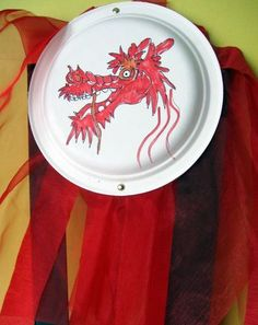Third Grade Holidays & Seasons Activities: Chinese New Year Dragon Art New Years Parade, Chinese New Year Parade, Chinese New Year Dragon, Seasons Activities, Holiday Activities, Art Activities, African American History Month, New Years Traditions, World Crafts