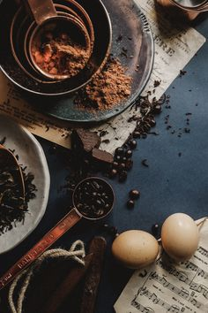 Navy Blue + Copper Food & Prop Styling   Photography Egg Coffee, Coffee Break, Cheap Coffee Maker, Prop Styling, Food Photography Styling, Food Pictures, Food Pics, Culinary Arts, Melting Chocolate