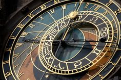 Prague's Spooky Astronomical Clock, look out for the scary skeletons...