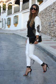 White jeans <3