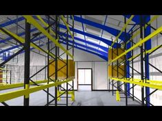 Warehouse, Workshop and Office Interiors Walkthrough Pallet Racking, Office Partitions, Shelving Systems, Office Interiors, Workplace, Warehouse, Workshop, Steel, Videos
