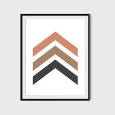 Geometric Wall Art Arrow Print, Geometric Wall Art, Office Decor, Scandinavian, Chevron, Poster Prints, Nursery, Stripes, Printables