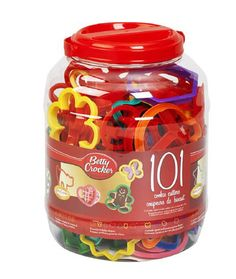 Betty Crocker 101 Piece Plastic Cookie Cutters ** Special product just for you. : Baking Accessories