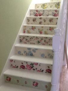 1000 images about stairways on pinterest stairs - Wallpaper for staircase ideas ...