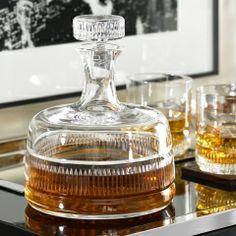 Carafe Broughton - Ralph Lauren Home Verrerie & Bar - Ralph Lauren Carafe, Bandeja Bar, Vase Cristal, Whiskey Decanter, Crystal Decanter, Bar Accessories, Interior Accessories, Bars For Home, Decoration