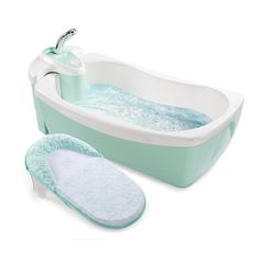 """Summer Infant Lil Luxuries Whirlpool Spa & Shower - Green - Summer Infant - Babies """"R"""" Us"""