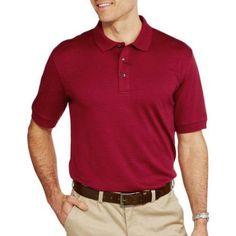 George Big Men's Luxe Cotton Polo, Multicolor