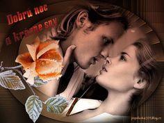 Dobrú noc -obrázky « Category   Obrázky pre radosť Couples, Movies, Movie Posters, Image, Gifs, Films, Film Poster, Couple, Cinema