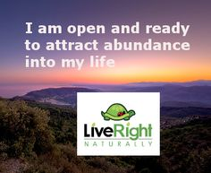 I am open and ready to attract abundance into my life......Of smiles...hugs...laughs...