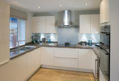 Layout of kitchen area
