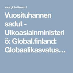 Vuosituhannen sadut - Ulkoasiainministeriö: Global.finland: Globaalikasvatus…