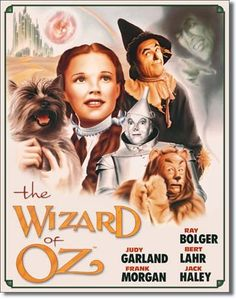 Classic Wizard of Oz tine sign #2