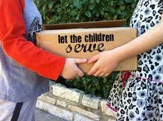 mama hall: let the children serve