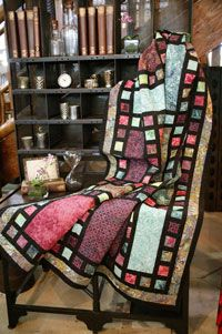 Lights, Camera, Action! by Monique Dillard in Best Fat Quarter Quilts 2014.