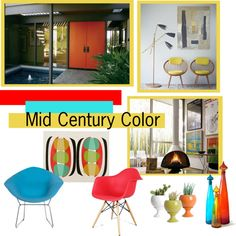 """Mid Century Modern Color"" by the-kwas on Polyvore"