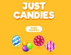 """Check out new work on my @Behance portfolio: """"Just Candies"""" http://be.net/gallery/47703201/Just-Candies"""