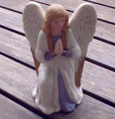 Home Interior Girl Angel Porcelain Figurine #5420 in Collectibles, Decorative Collectibles, Decorative Collectible Brands   eBay