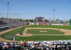 HoHoKam Stadium in Mesa, AZ (Chicago Cubs facility)