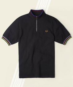 Fred Perry Champion Tipped Cycling Shirt