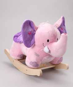 @RosemarieGriffin @Aimee Griffin I have become obsessed with elephants now thanks! lolTake a look at this Bella the Pink Elephant Rocker on zulily today