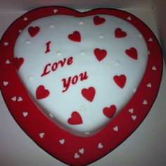 Just Because I Love You Cake