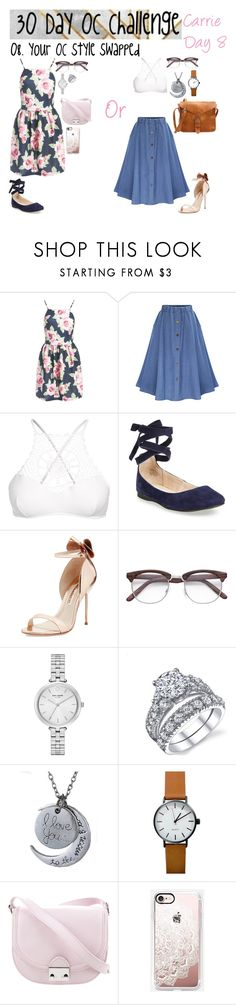 """Day 8"" by fantast ❤ liked on Polyvore featuring Sans Souci, Apex, Steve Madden, Sophia Webster, Kate Spade, Loeffler Randall and Casetify"