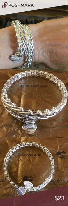 🎊ALEX & ANI SILVER GYPSY WRAP BRACELET 🎊 NWOT...SILVER ALEX & ANI GYPSY WRAP BRACELET...GREAT CONDITION ❤️THANKS FOR VISITING ❤️ Alex & Ani Jewelry Bracelets