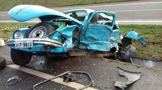 Sad day for this VW. We could fix it #www.apcr.biz