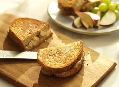 Grilled cheese au poulet