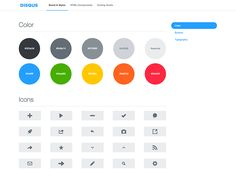 style guide dribbble 10 Cool Style Guides for Inspiration