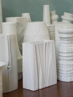 collection of Mid Century white German porcelain   http://www.etsy.com/shop/MidCenturyFLA?section_id=12809432&ref=shopsection_leftnav_2