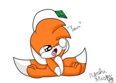 tails doll chibi - Im crepy or cute?