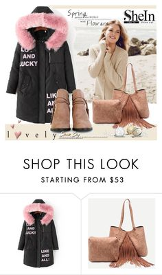 """""""shein 1"""" by aida-1999 ❤ liked on Polyvore featuring Repeat Cashmere"""
