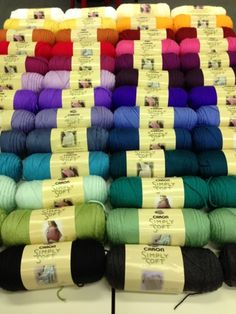 Amigurumi Caron Simply Soft : Shops, Colors and Softest blanket on Pinterest
