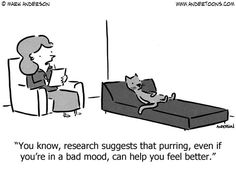 benefits of purring. Andertoons by Mark Anderson November 9, 2014