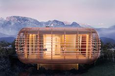 Fincube, A Sustainable & Transportable House in Northern Italy