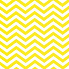 The Social Boutique - yellow chevron paper table runner