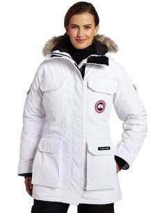 Canada Goose' Montebello parka coat, Women's, Size: Large, Blue