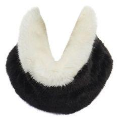 Giorgio Armani, Emporio Armani, Snood Scarf, Armani Black, Cute Swag Outfits, Circle Scarf, Faux Fur, Fur Scarves, Cool Style