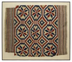 Lot: ANTIQUE WOVEN WOOL RUTEVEV TEXTILE, NORWAY, Lot Number: 0044, Starting Bid: $80, Auctioneer: Austin Auction Gallery, Auction: MAJOR OIL & GAS COMPANY ART COLLECTION, Date: March 11th, 2017 EST
