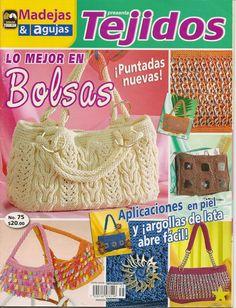 como hacer bolsos con dos agujas - Revistas de crochet y tejidos gratis