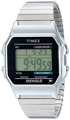 Timex® Men's Classic Digital Silver-Tone Expansion Band Watch #T78587 Timex http://www.amazon.com/dp/B000B545A0/ref=cm_sw_r_pi_dp_vwq8vb0Y16QGE