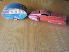 Toys vintage motorhome