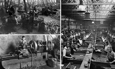 Photographs showing the workers of the Leys Malleable Castings Company in Twenties and Thirties Derby were discovered in the city's Local Studies Library.