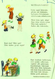Mitä sinä opit? Opi, Language, Education, Quotes, Qoutes, Languages, Quotations, Educational Illustrations, Learning