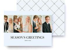 Image of Sleek City Holiday Photo Card